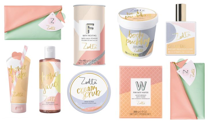 Zoella Beauty Jelly & Gelato Collection