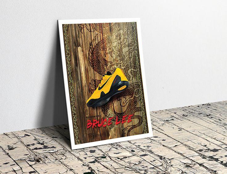 """Nike zoom Kobe """"Bruce Lee"""" #Nike #Kobe #Bruce Lee"""