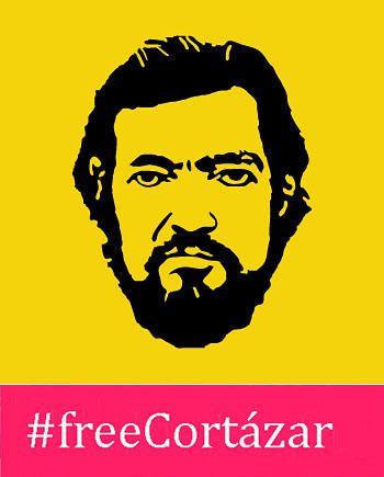 #FreeCortázar, la campaña para liberar las obras de Julio Cortázar.