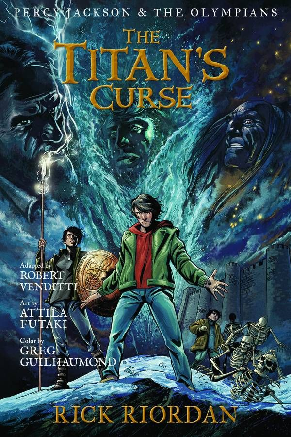 Percy Jackson & The Olympians #HC Vol3 Titans Curse (Virgin Cover) # ...