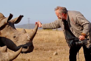 Art & Rhino ...Laubar making dokumentary....