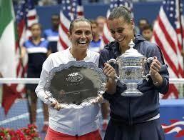 Bruno Vespa ha deciso di dedicare un rosato di Puglia all'impresa delle due tenniste Vinci e Pennetta, giunte alla finale degli US Open. Il rosato si chiamerà Flarò