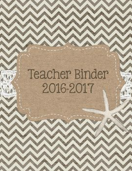 Longing for the beach, but back to school? Keep summer all year long as your teacher binder. Includes: Cover 2016-2017AttendanceProfessional DevelopmentIEPs & 504sParent ContactsSub PlansCalendars and SchedulesFaculty Meeting NotesLesson PlansMathScienceSocial StudiesEnglish/Language ArtsWritingBenchmarksCommon CoreTo Do Lists...ObservationsParent InformationStudent PasswordsEmergency ProceduresStudent BirthdaysPacing GuidesClassroom NewslettersDaily 5ReadingSight WordsSpellingWord WorkVo...