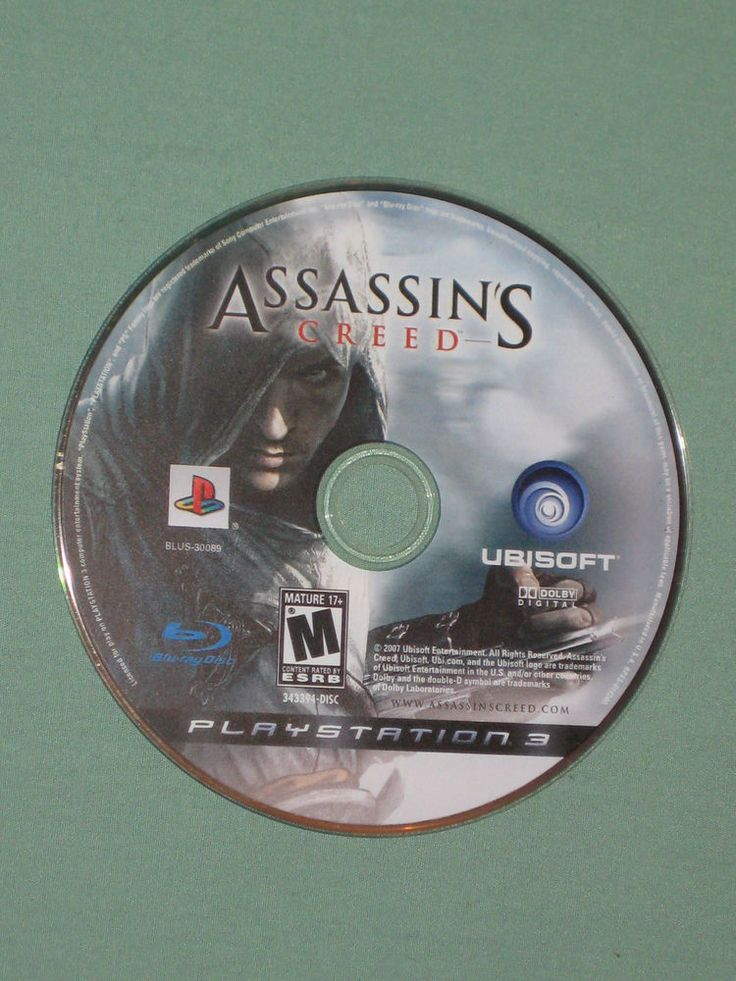 Assassin's Creed 1 - Playstation 3 PS3 - 2007 Video Game - GAME DISC ONLY | eBay