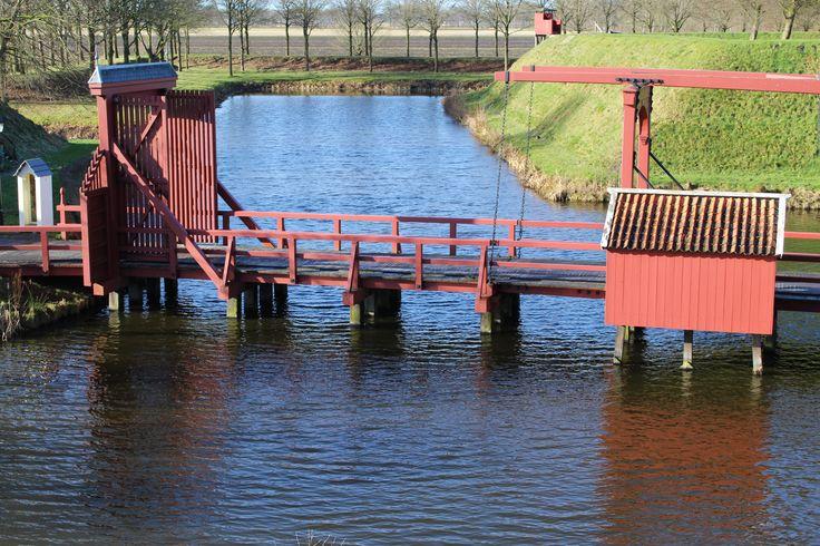 Vesting Bourtange. Groningen Nederland
