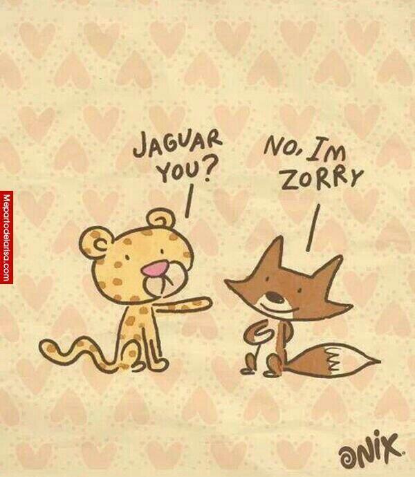 #Chiste de idiomas y animales..exito