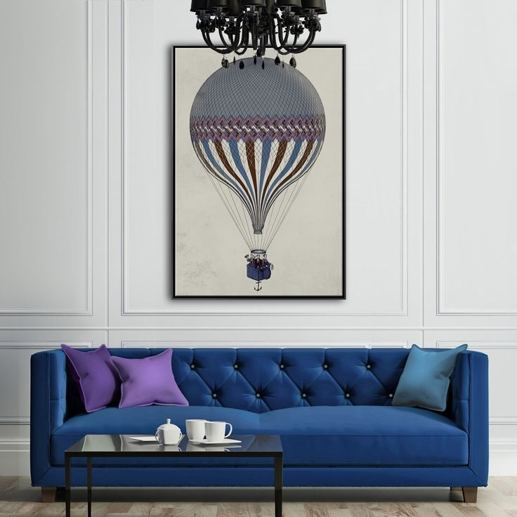 OLD BALOON 1   MIXGALLERY transport,ballon,vintage,wallart,canvas,canvas print,home decor, wall,framed prints,framed canvas,artwork,art