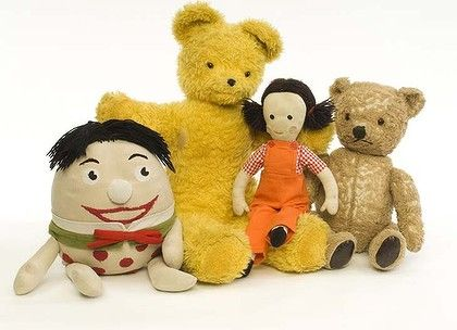 Don't forget to bring BIG #TED to your  #Teddy Bear picnic and your other #Playschool friends !