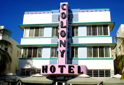 colony hotel miami
