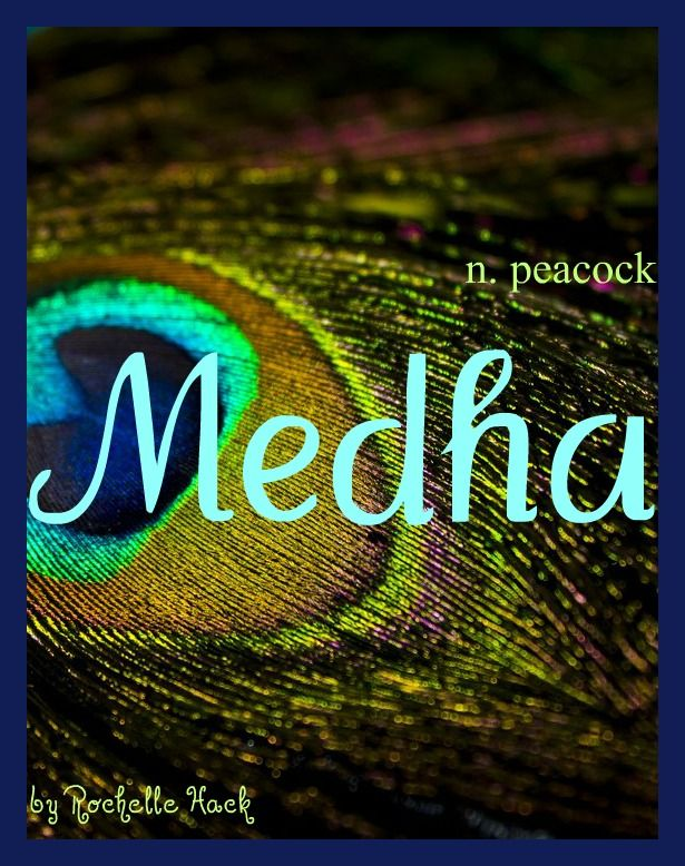 Baby Girl Name: Medha (medda). Meaning: Peacock. Origin: Hindu; Sanskrit.