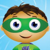 SUPER WHY! for iPad-Play along with each of the main characters from the TV series: Alpha Pig, Princess Presto, Wonder Red, and, of course, Super Why, while practicing the alphabet, rhyming, spelling, writing and reading. Super Duper!