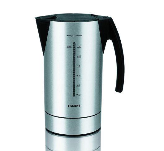Water kettle for siemens design by christian schwamkrug - Siemens wasserkocher porsche design undicht ...