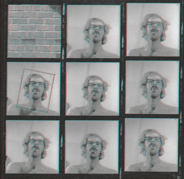 Chuck Close, Proof Sheet for Big Self Portrait (1967)