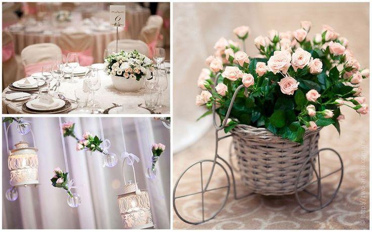 Beautiful wedding decorations with flowers | Красивый свадебный декор с помощью цветов