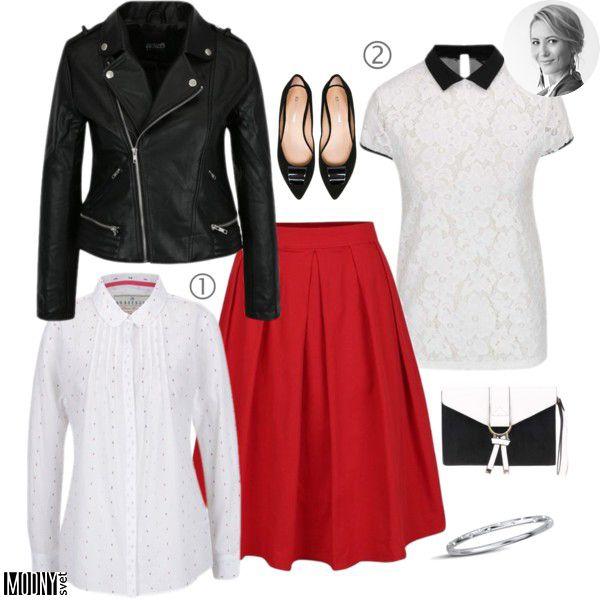 Červená sukňa – MODNYSVET