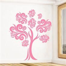 Wallsticker Abstrakt Træ