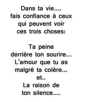 3 choses #quote #inspiration #funny #pixword #citation