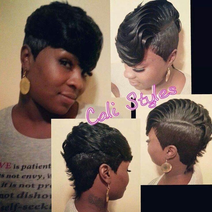 Sensational 1000 Images About Short Weave Styles On Pinterest Models Short Short Hairstyles Gunalazisus