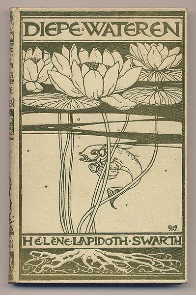 Book Cover Design: 'Diepe Wateren'