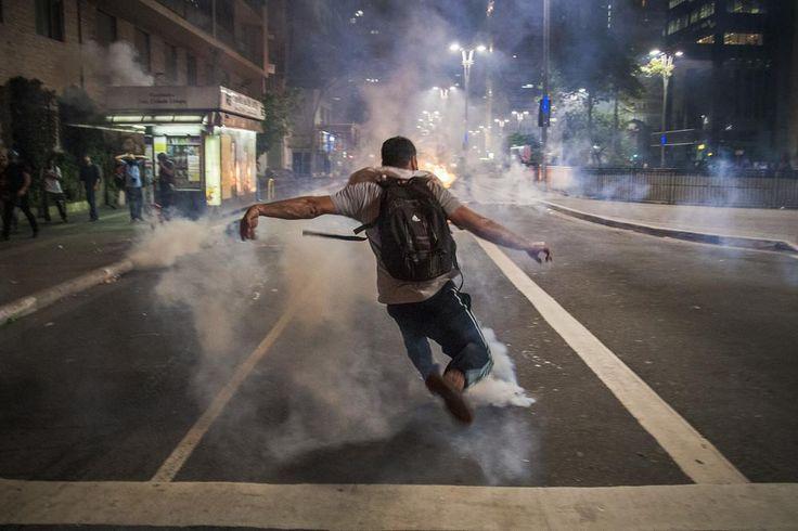 As fotos dos protestos contra Temer ontem e hoje em SP | VICE | Brasil