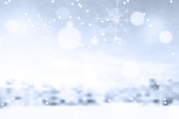 Download Blurred Winter Background For Free Winter Background Winter Wallpaper Snowfall Wallpaper