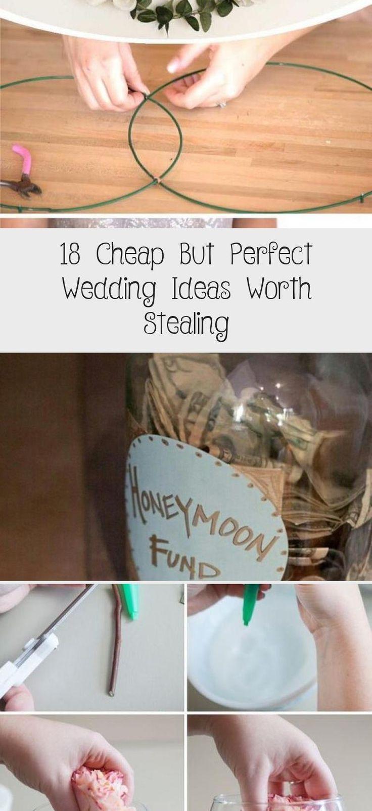 Jan 25, 2020 - 18 #Cheap But Perfect #Wedding Ideas Worth Stealing!