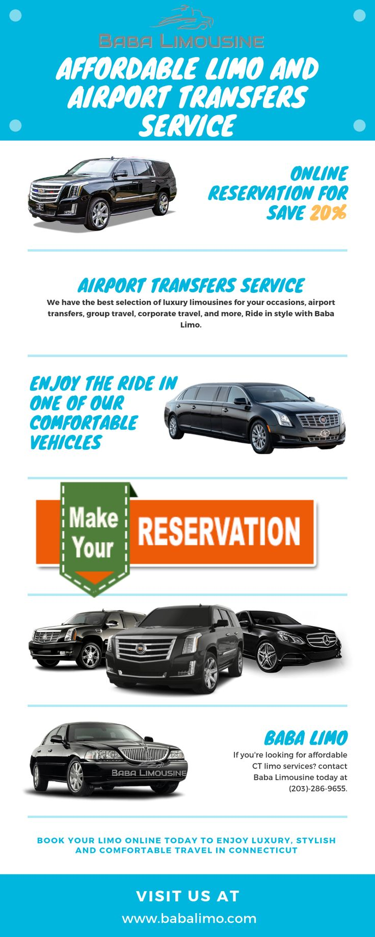 Affordable Limo and Airport Transfers Service in Connecticut