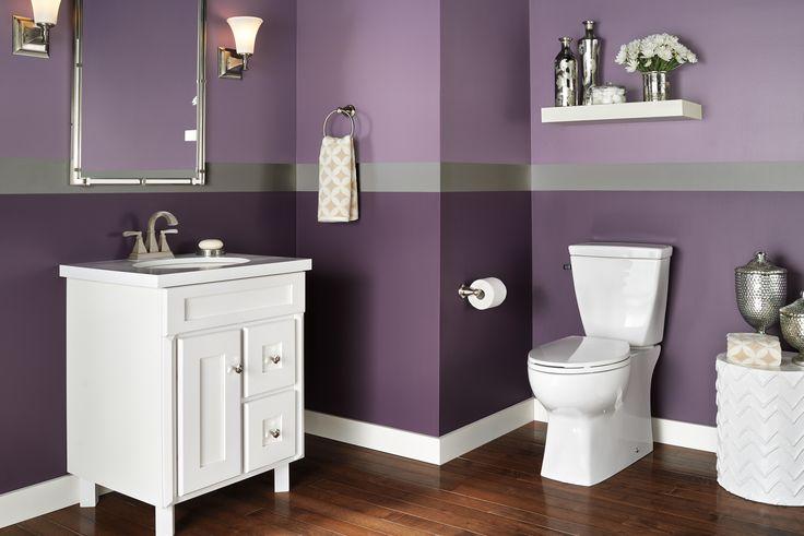 Best 20 purple bathroom paint ideas on pinterest purple - Purple paint colors for bathrooms ...