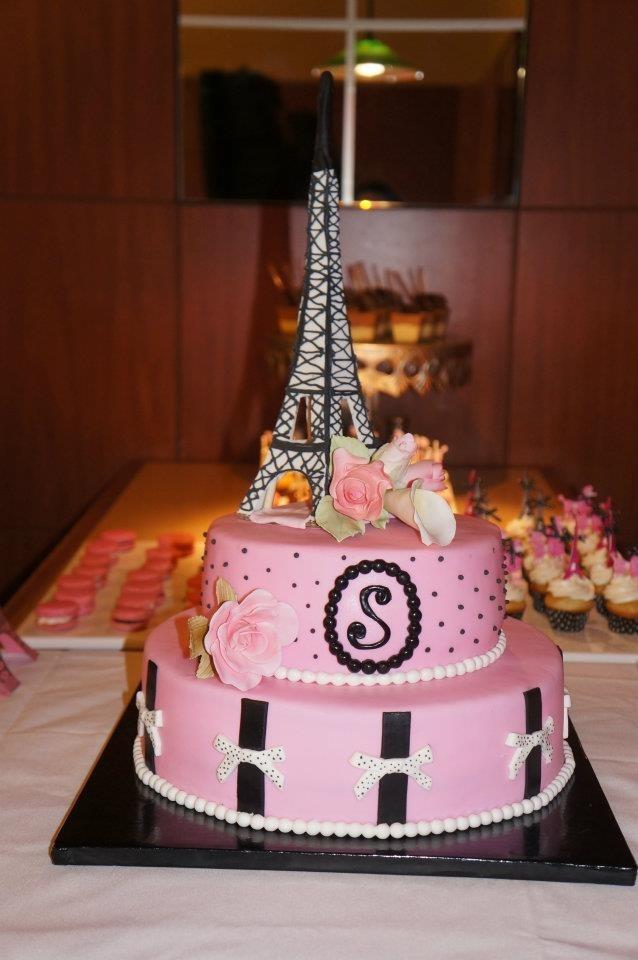 Paris Theme Bridal Shower Emily S 16th Bday Ideas