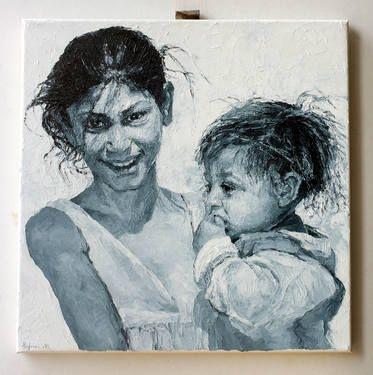 """Saatchi Art Artist Monika Hafner; Painting, """"minor(ity) 14."""" #art"""