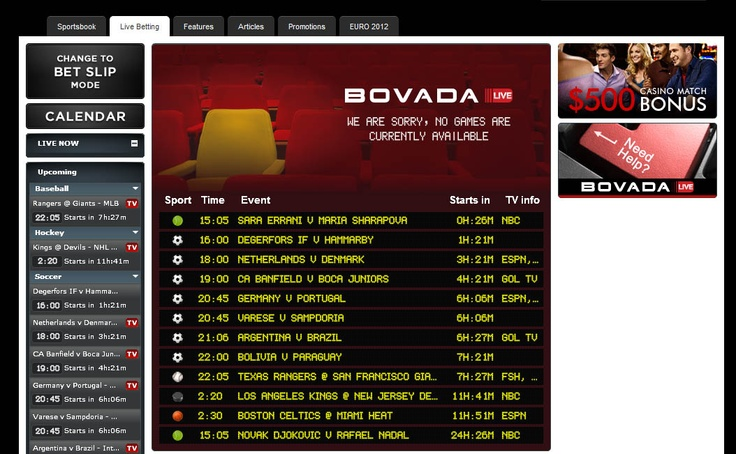 Bovada bonus code and Bovada sportsbook review. Get the