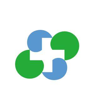 四国の医療介護周辺産業を考える会 医療・ロゴ・病院
