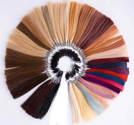 With so many colours, you should be able to find your perfect match!  Whether you want a ponytail or extension, Flip-In Hair is the brand for you. We offer damage free, temporary, human hair extensions that add instant length and volume!  #colour #extensions #flipinhair #flipin