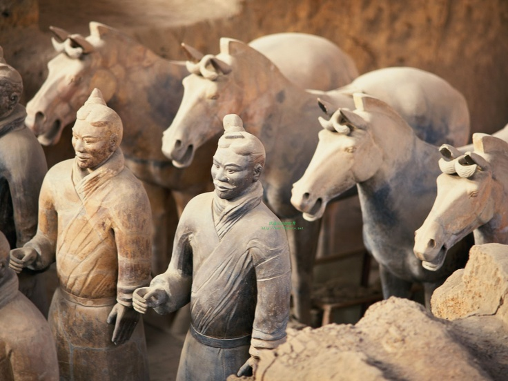 Terracotta Leger in Xi'An - China