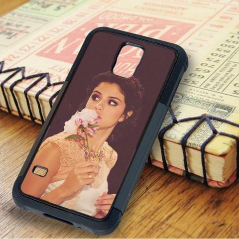 Selena Gomez Flower Singer Samsung Galaxy S5 Case