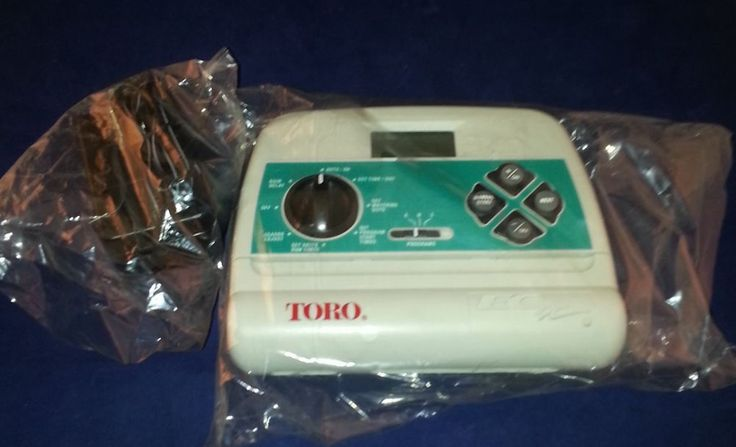 TORO ECX sprinkler / Irrigation TIMER Automatic 8 stations New  #Toro