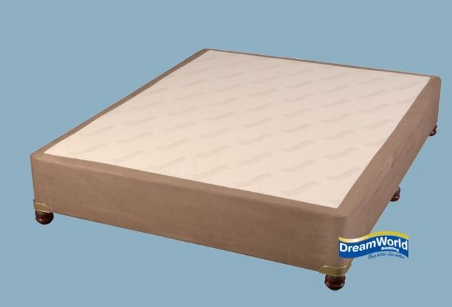 Suede Bed Base Brown
