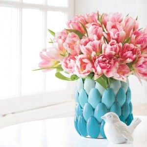 How to Make a Cute Vase from Plastic Spoons