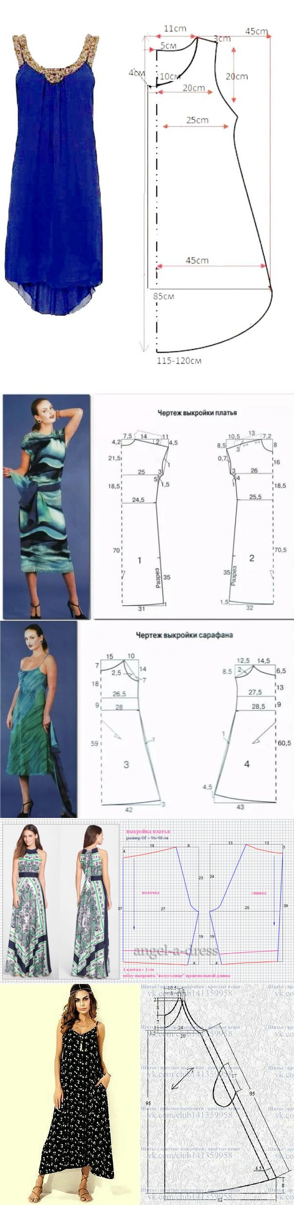 Sundress dress pattern …
