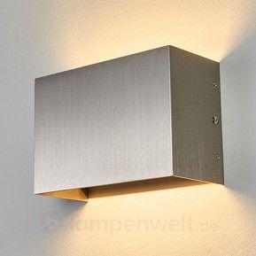 Schlichte LED-Wandleuchte Bianka