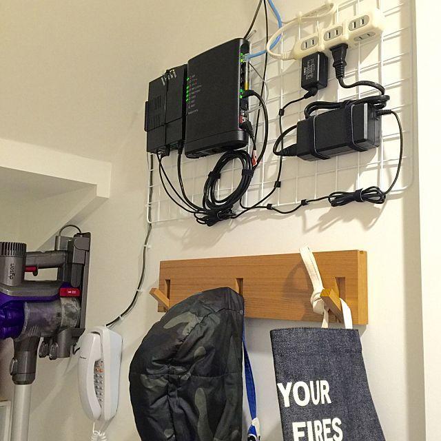 Lanケーブルの固定方法 賃貸住宅の壁にキレイに固定する方法 壁