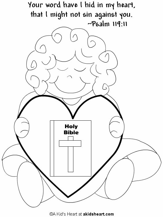 psalm 119 105 coloring pages - photo#21
