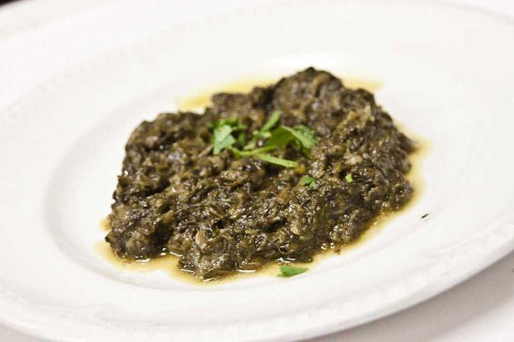 Afghani Sabzi (Spinach)