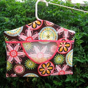 Image of Peg Bag Pattern - How to Sew a Clothespin Carrier - Sewing Pattern PDF