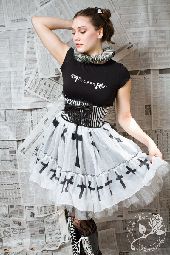 Classic Striped Hotness Corset Belt by fluffergirl on Etsy