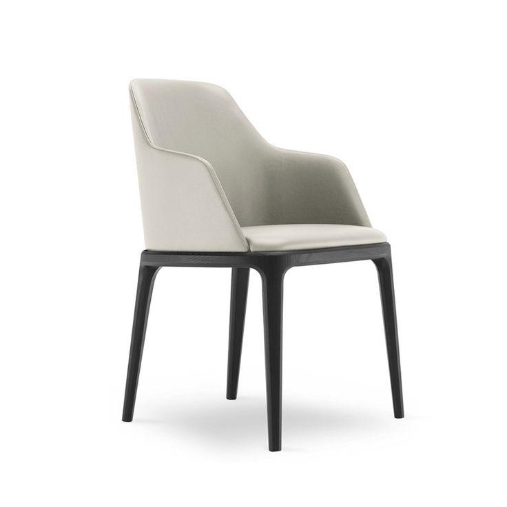 Cityside Furniture - CHLOE Dining Chair / Black Stained Legs, $439.00 (http://citysidefurniture.com.au/chloe-dining-chair-black-stained-legs/)