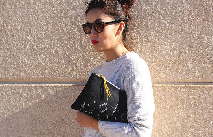Turqueta Handmade - Berber pouch bag (In stock / 36€)