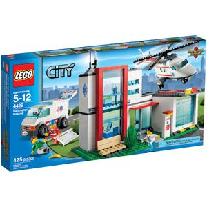 LEGO CITY Helicopter Rescue Play Set - currently on sale for $38.00 - was 59.00