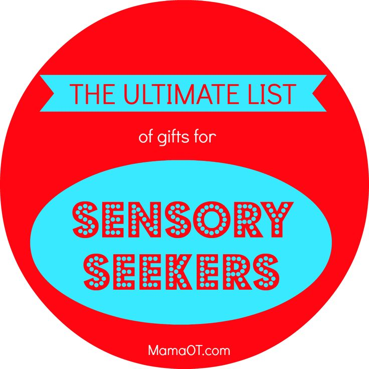 The Ultimate List of Gifts for Sensory Seekers