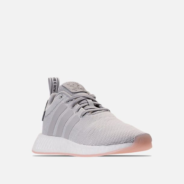 Three Quarter view of Women's adidas NMD R2 Casual Shoes in ...